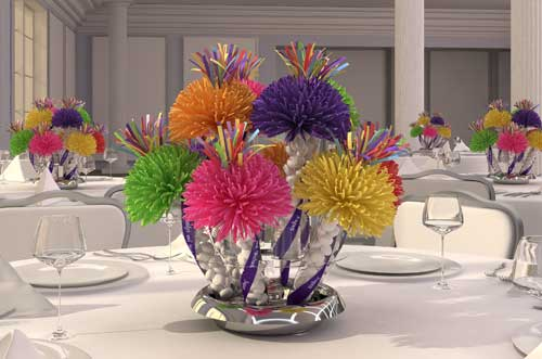 Centerpieces, Party Centerpieces, Unique Table Centerpieces, Ideas